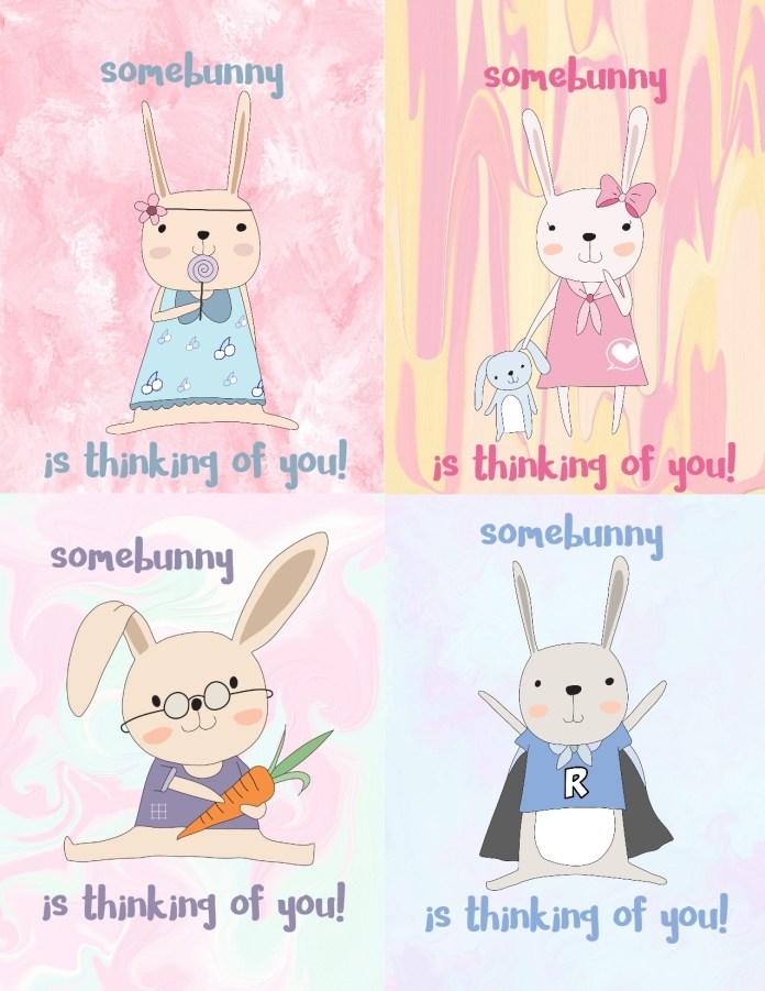 clip art easter bunny
