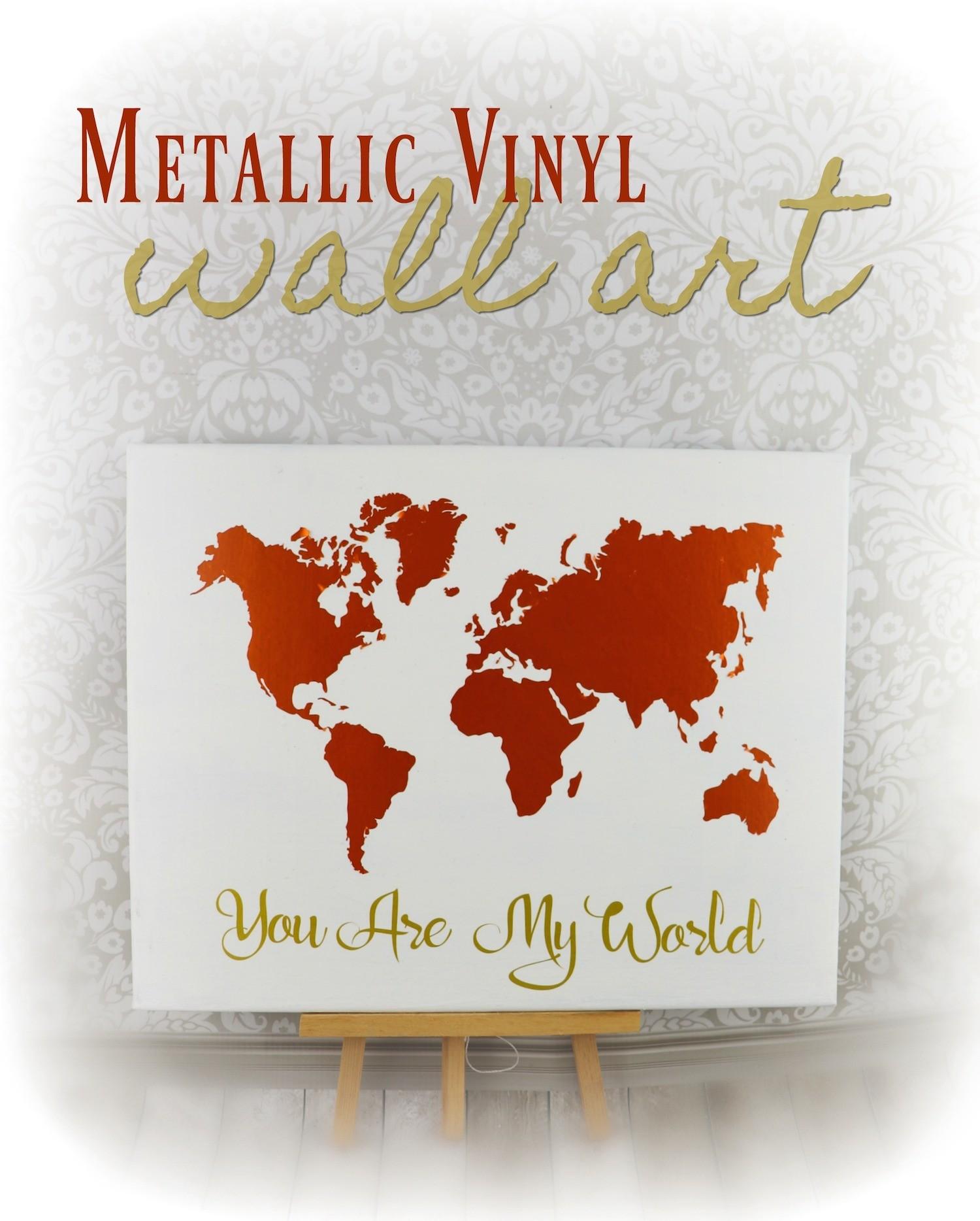 World Map Vinyl Art Home Decor Diy Morena S Corner