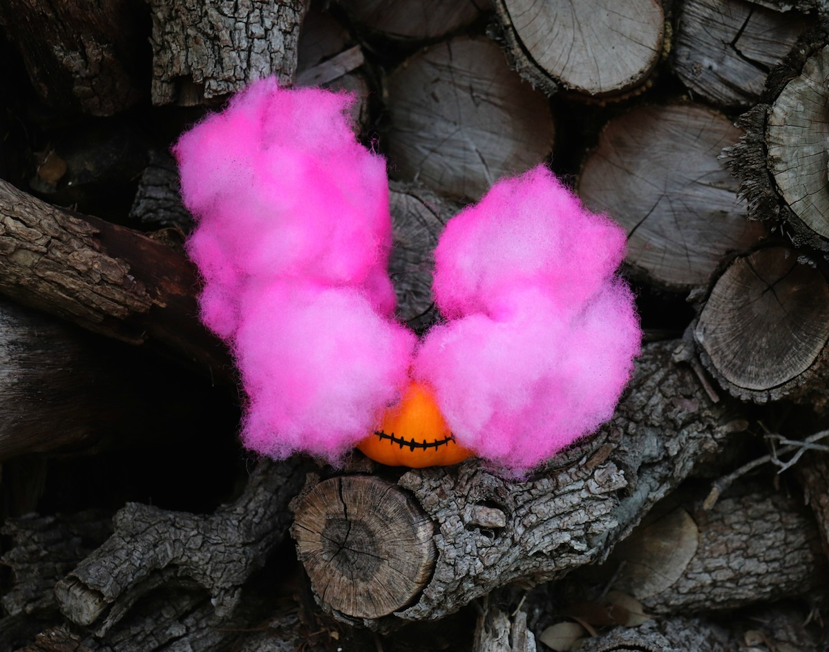 smoke bomb pumpkin tutorial