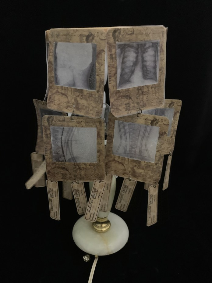 how to make an x-ray lamp DIY project