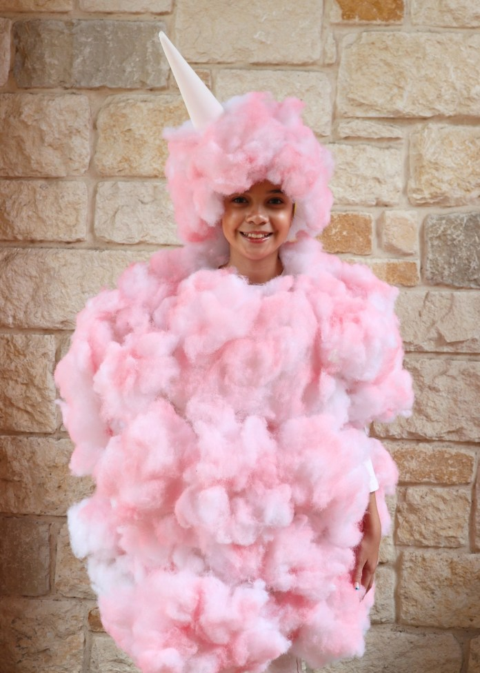 DIY cotton candy for Halloween