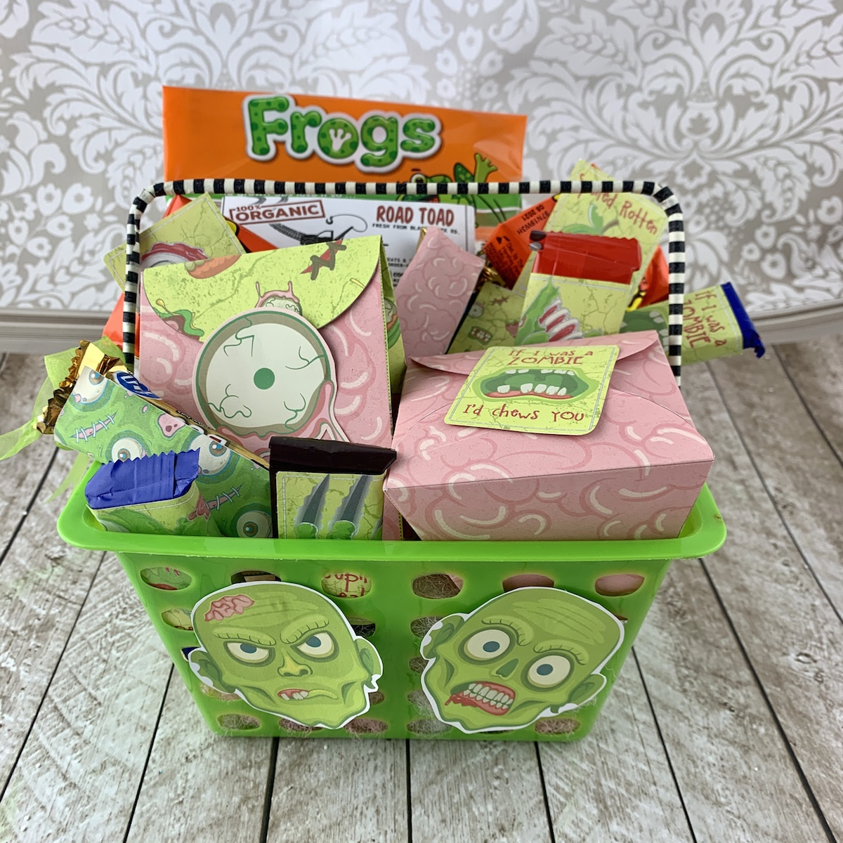 halloween treat basket you've been booed