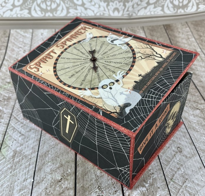 halloween spinner party favor