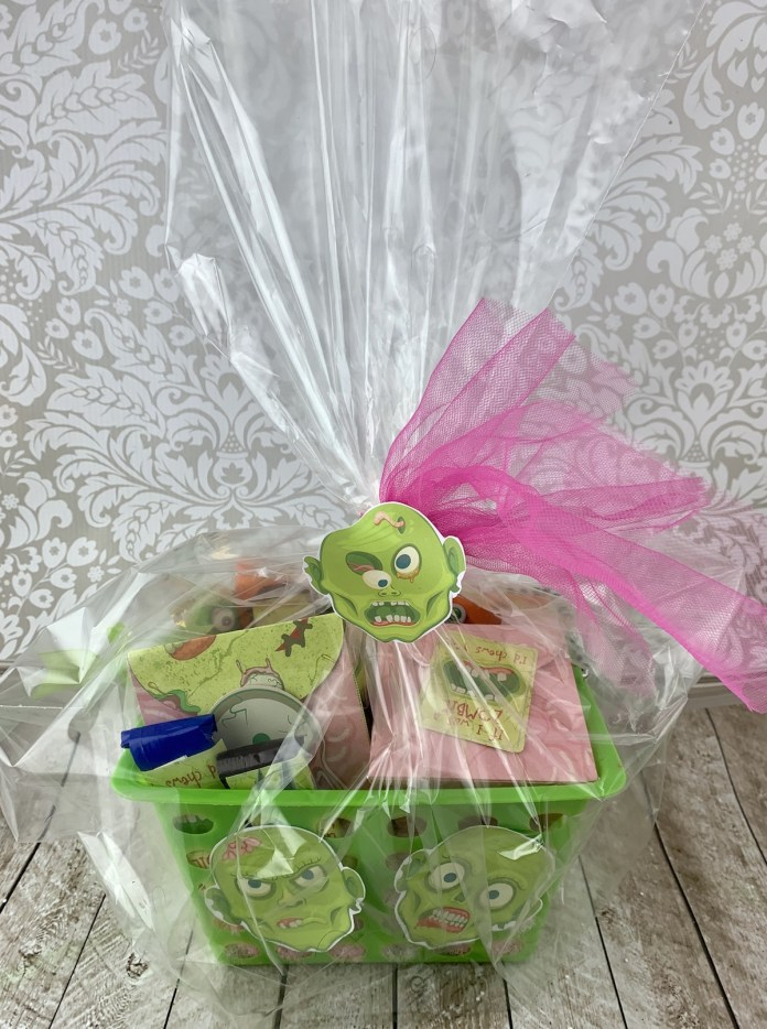 candy basket for Halloween