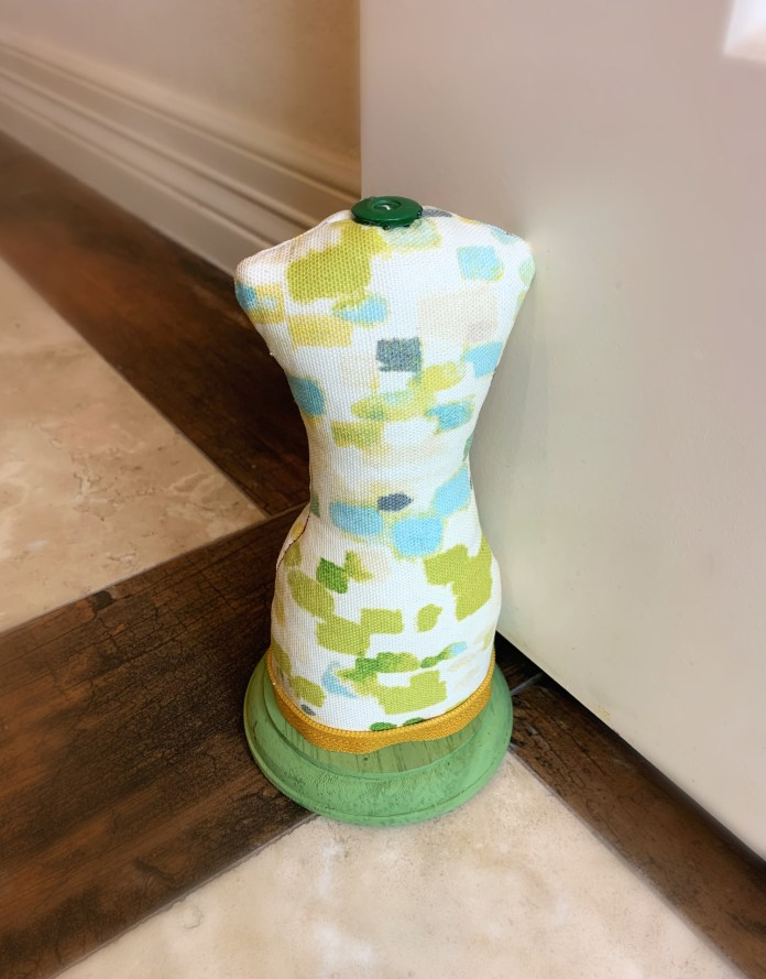dress form door stopper DIY