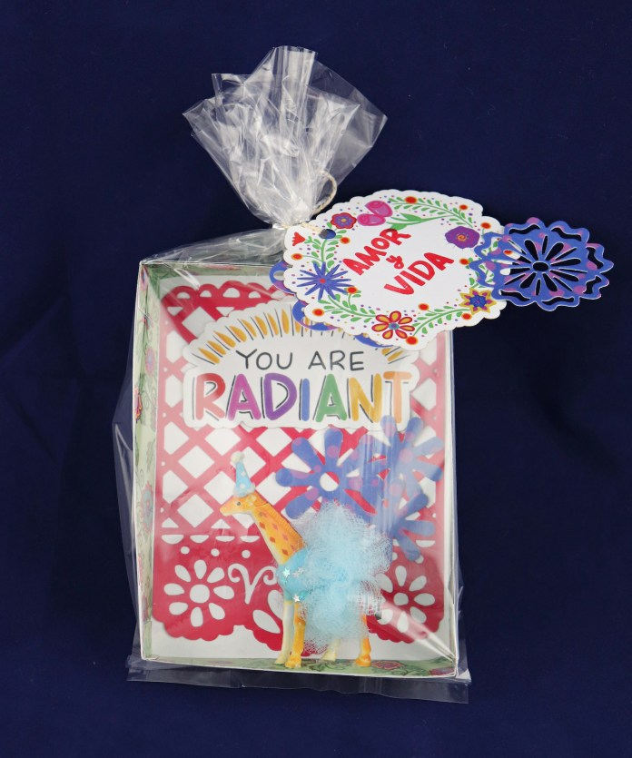 Party animal giraffe gift