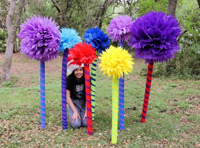 make whimsical trees for decorating