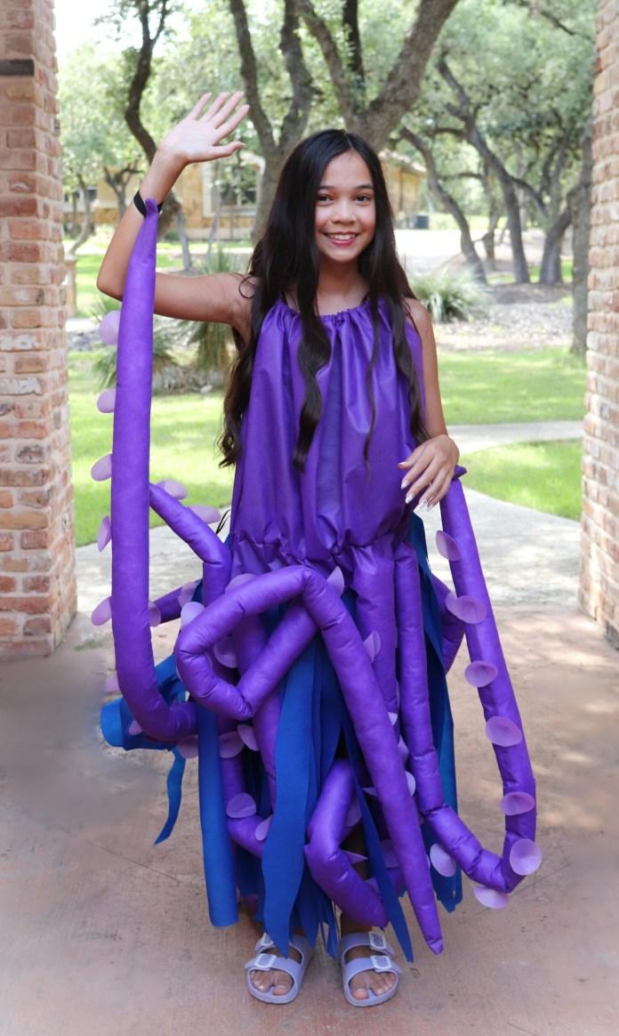 octopus costume tutorial
