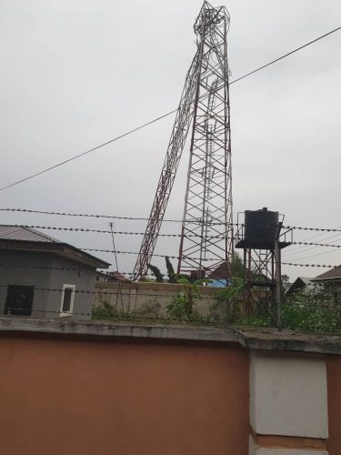 Massive death averted as another FM radio mast collapses in Uyo