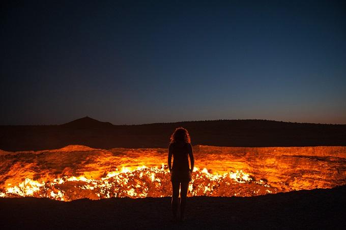 volcano standing