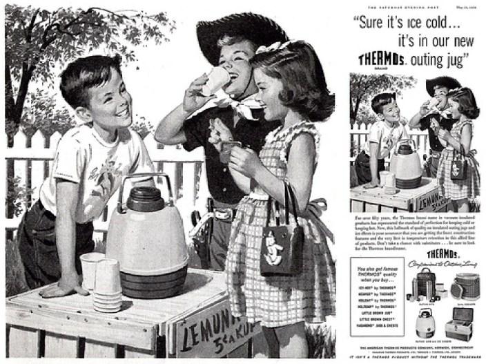 thermos lemonade