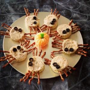 more-organised-halloween-spider-sandwiches
