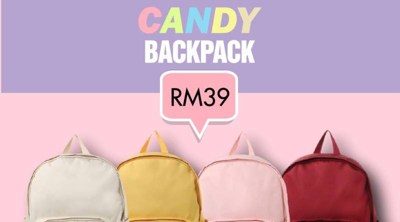 Spao S Trendy Candy Backpack At Only Rm39 ‹� Morepromo Info