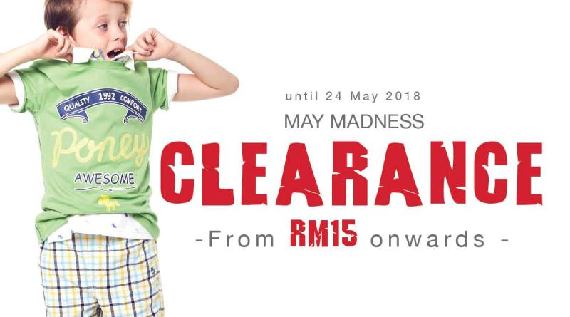 May Madness Clearance   Poney