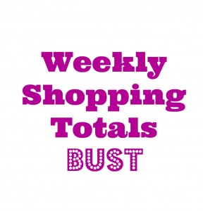 shopping totals bust
