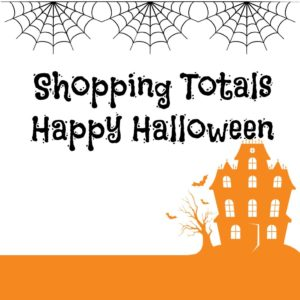 halloween shopping totals
