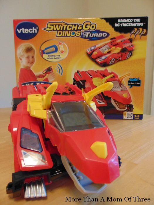 VTech Switch and Go Dinos Bronco the RC Triceratops