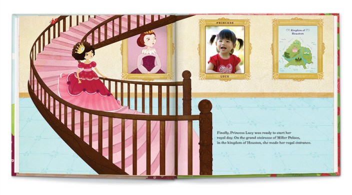 iseeme! princess personalized book