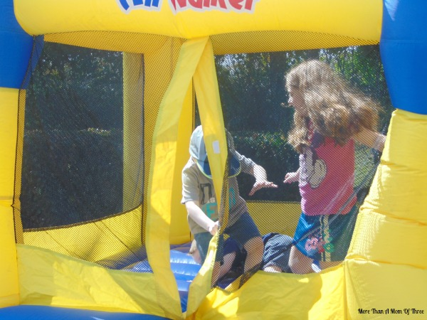 disneyside bounce house