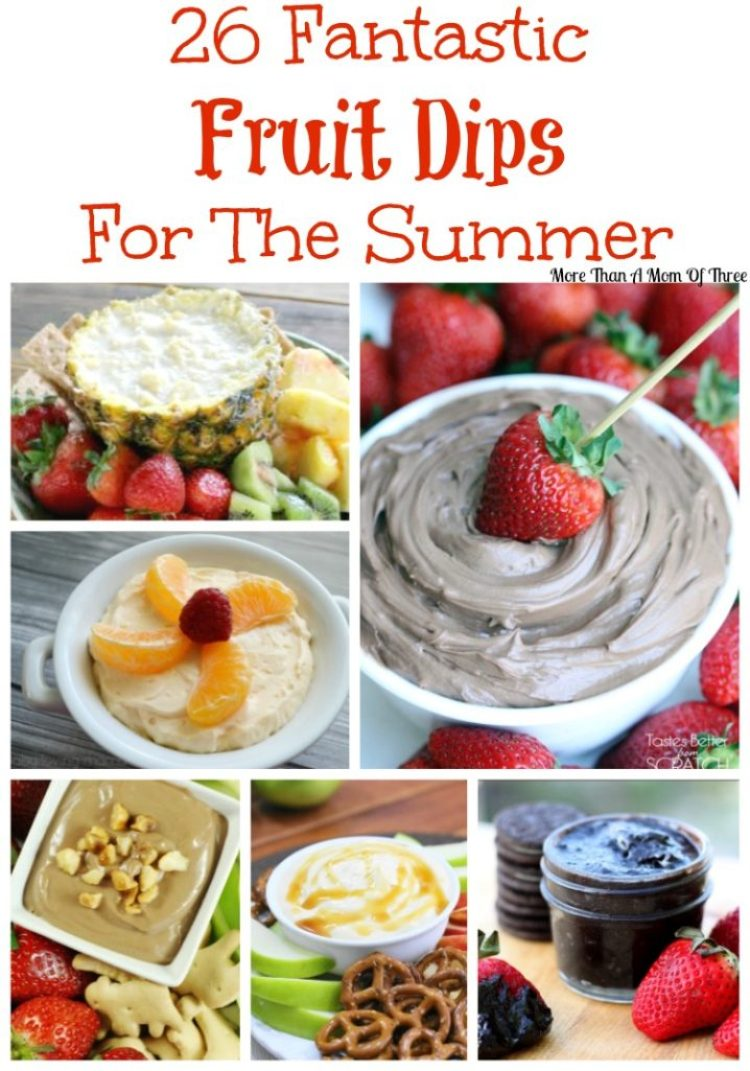 26 Fantastic Fruit Dips For The Summer