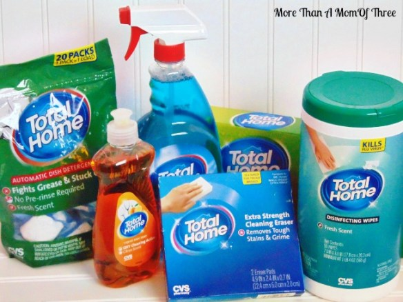 CVS Total Home Cleaning Products