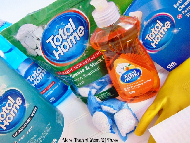 save money with Total Home cleaning products from CVS
