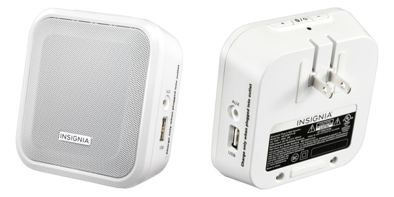 Plug in Insignia Bluetooth Speakers
