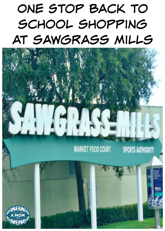 Sawgrass Mills Back To School Shopping One Stop Shopping