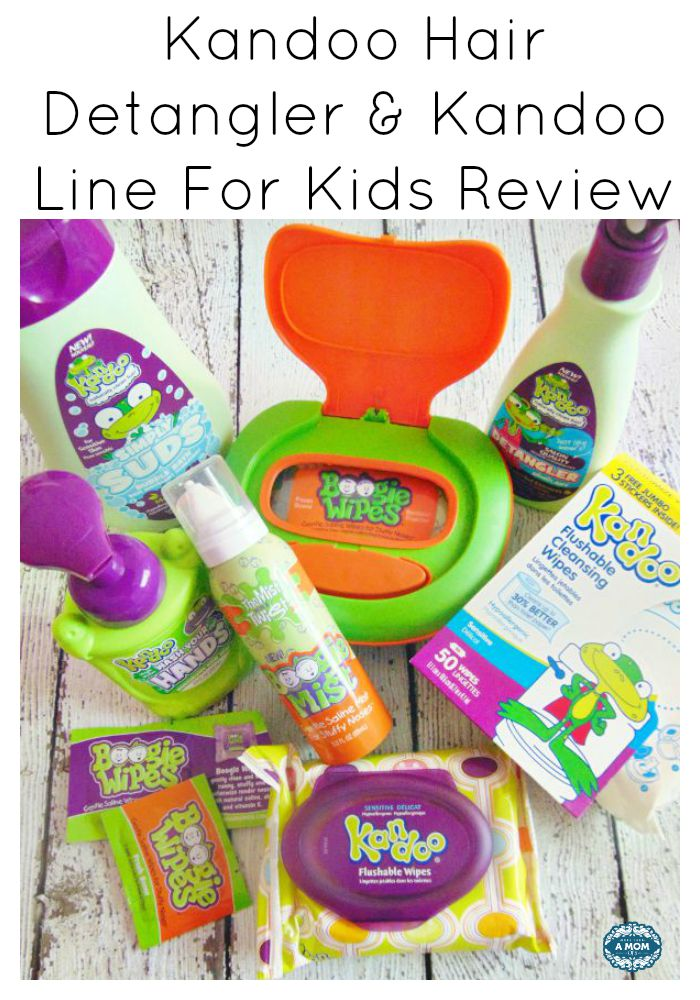 Kandoo Hair Detangler & Kandoo Line For Kids Review
