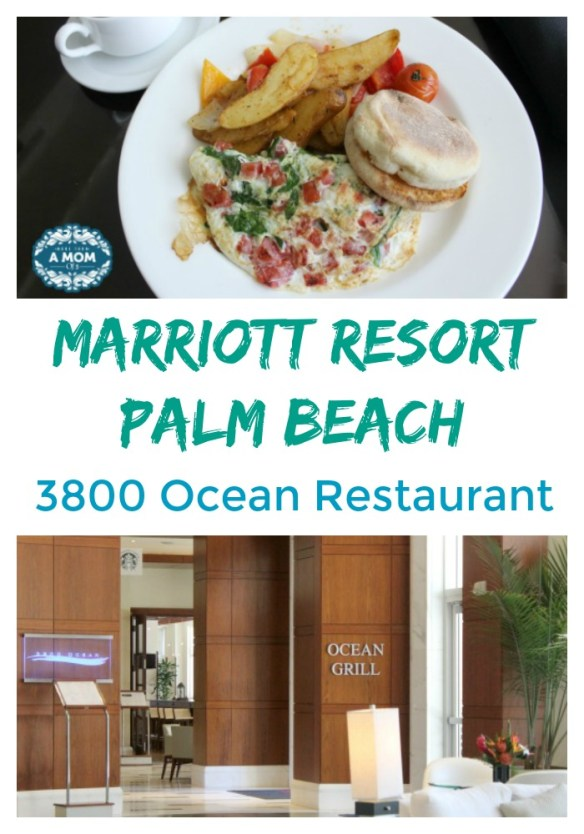 Marriott Resort Palm Beach 3800 Ocean Restaurant