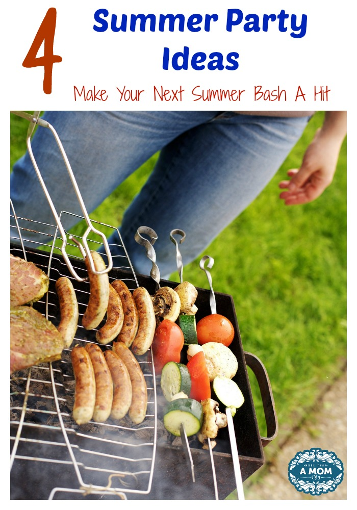 4 Summer Party Ideas To Make Your Next Summer Bash A Hit