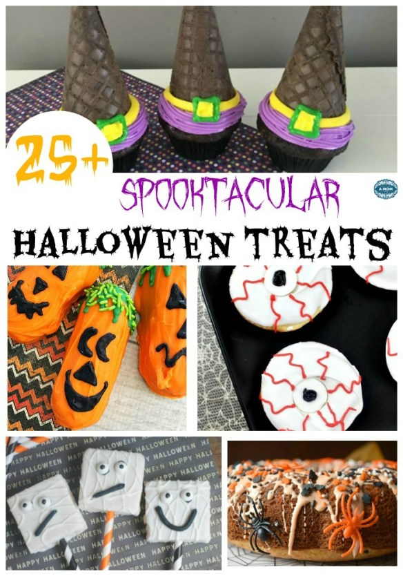 I scoured Pinterest and came up with a nice list of 27 HalloweenSweet treats for you to try this year.