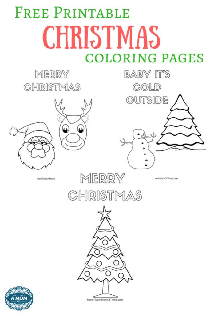 Printable Christmas Coloring Pages Beautiful Free Throughout E
