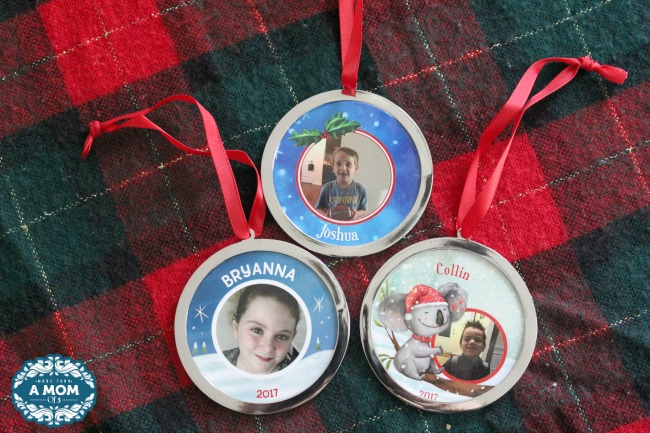i see me personalized ornaments
