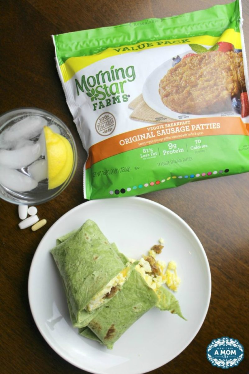 Healthy Morning Routine with MorningStar Farms