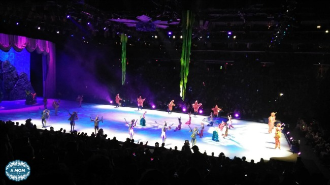 Watch Ariel and her favorite under the sea friends at Disney on Ice Reach For The Stars