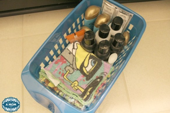 Under the bathroom sink can get messy! These bins keep your bathrooms organized!