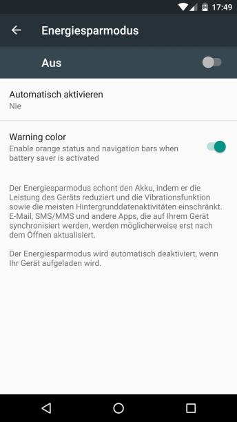 Doze & App Standby unter Android Marshmallow abschalten 3