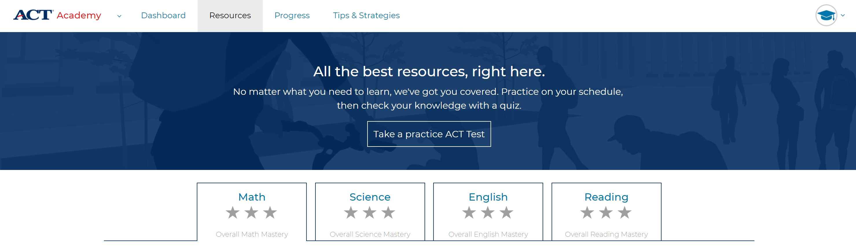 ACT Academy is LIVE… and I would give it 0 stars if I couldMore Than ...