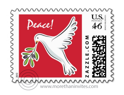 Beautiful Peace Dove With Olive Branch Christmas Holiday