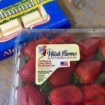 chocolated covered strawberries