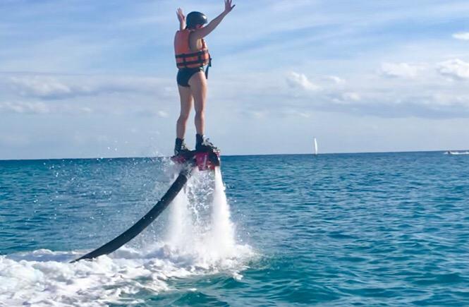 What is a flyboard and is flyboarding hard?