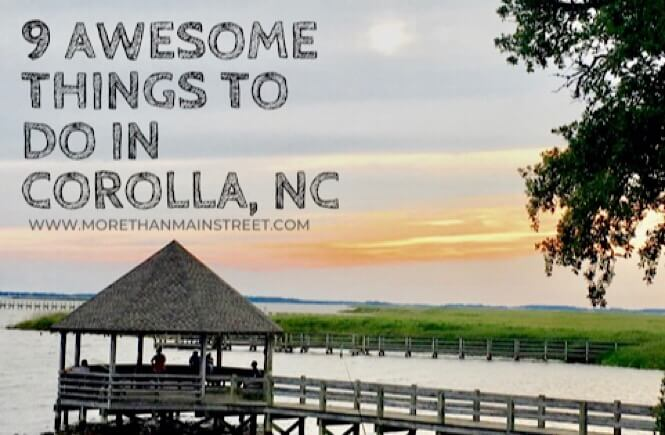 9 awesome things to do in Corolla NC.