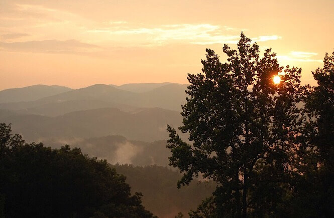 5 Weekend Getaways in NC for Family featured by top NC travel blog, More Than Main Street: Sunrise in Boone, NC
