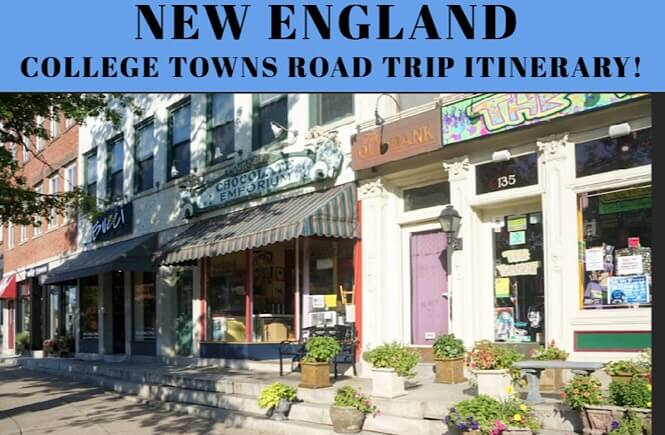 Northeast road trip itinerary