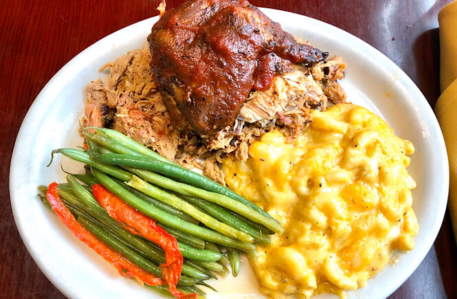 Top US family travel blog, More than Main Street features their complete guide to restaurants in Rocky Mount NC; Prime Smokehouse.