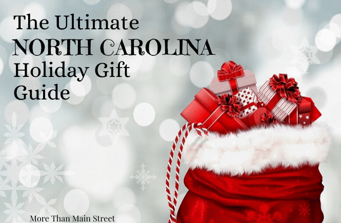 Holiday Gift Guide: Unique North Carolina Gifts featured by top North Carolina blog, More Than Main Street.