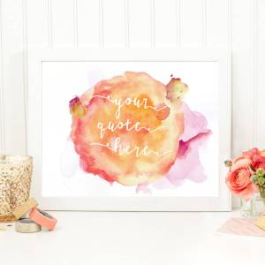 sku73-01-Bespoke Watercolour Quote
