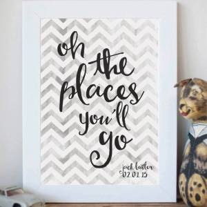 sku89-01-'Oh The Places You'll Go' Print
