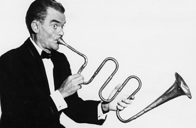 Spike Jones and the City Slickers made their living making fun of serious music in the big band era.